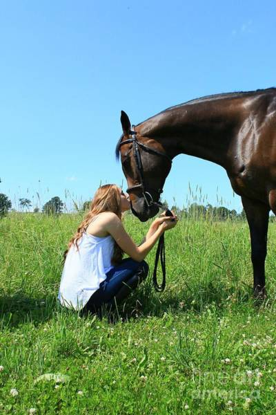 Photograph - Paige-lacey31 by Life With Horses