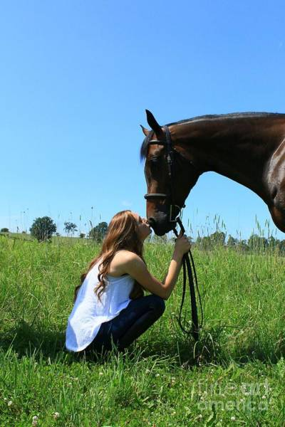 Photograph - Paige-lacey32 by Life With Horses