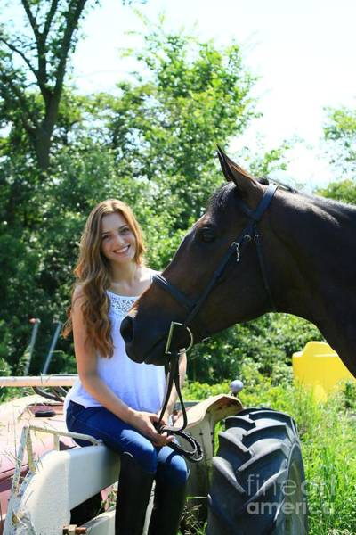 Photograph - Paige-lacey34 by Life With Horses