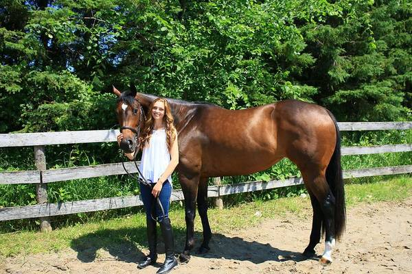 Photograph - Paige-lacey4 by Life With Horses