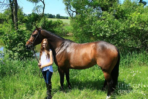 Photograph - Paige-lacey40 by Life With Horses