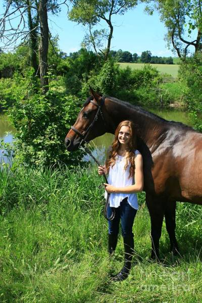 Photograph - Paige-lacey42 by Life With Horses