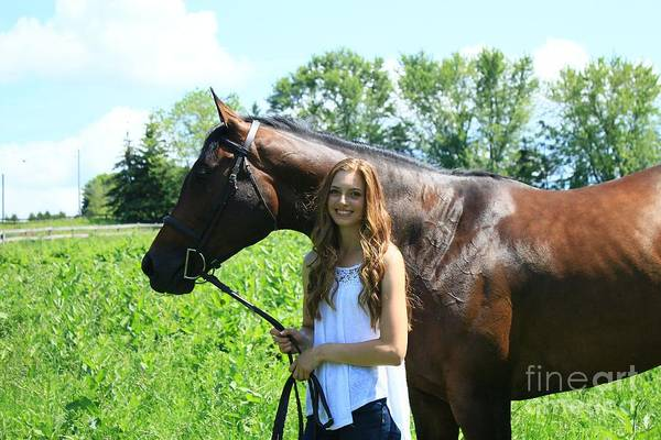 Photograph - Paige-lacey46 by Life With Horses