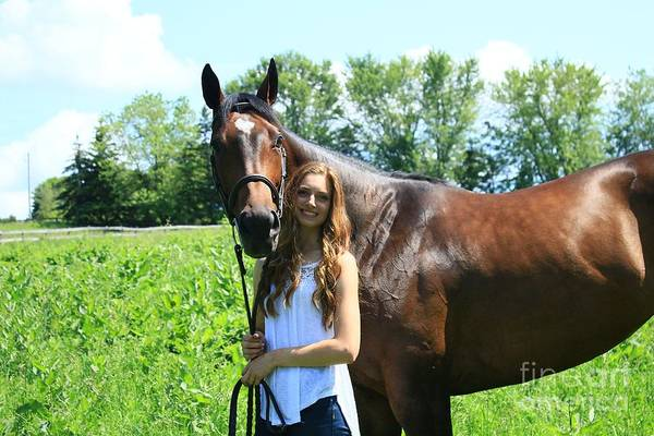 Photograph - Paige-lacey47 by Life With Horses