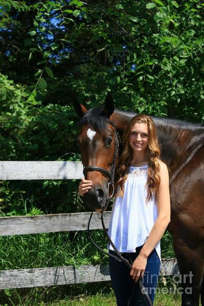 Photograph - Paige-lacey5 by Life With Horses