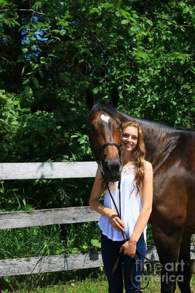 Photograph - Paige-lacey6 by Life With Horses