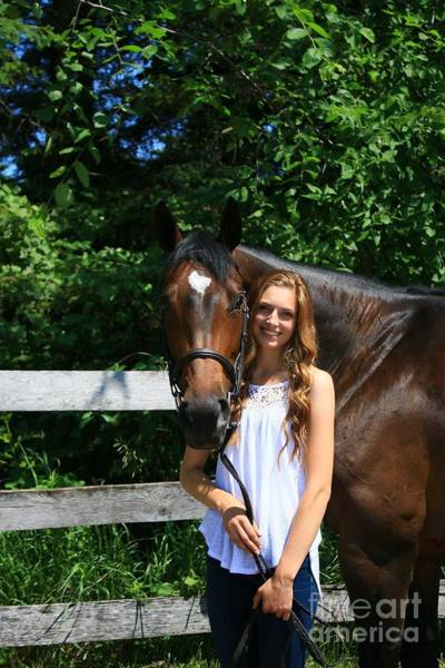 Photograph - Paige-lacey7 by Life With Horses