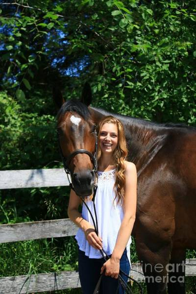 Photograph - Paige-lacey8 by Life With Horses