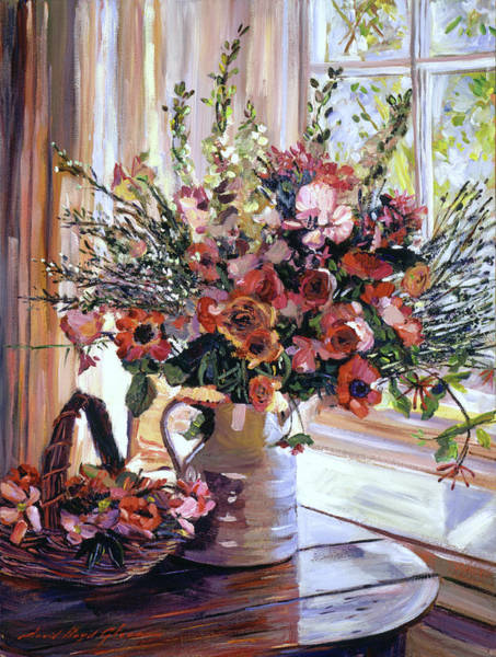 Painting - Paint Box Arrangement by David Lloyd Glover