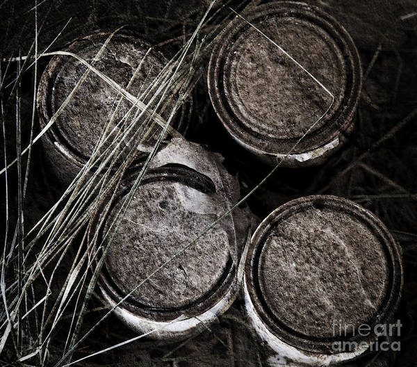 Photograph - Paint Cans by Pete Hellmann