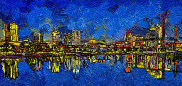 South Alabama Painting - Paint Me A Birmingham by Dan Sproul