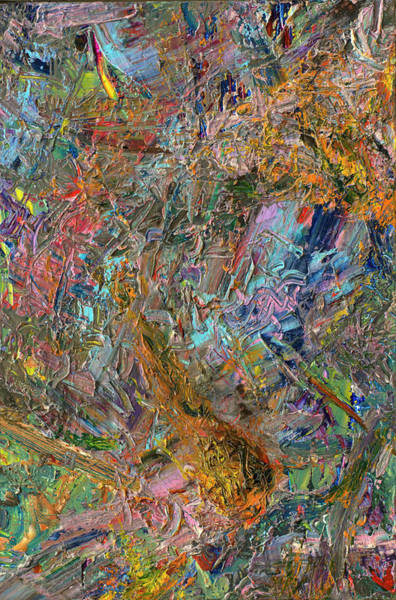 Expressionism Painting - Paint Number 26 by James W Johnson