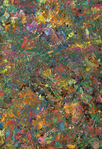Expressionism Painting - Paint Number 29 by James W Johnson