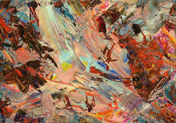 Expressionism Painting - Paint Number 36 by James W Johnson