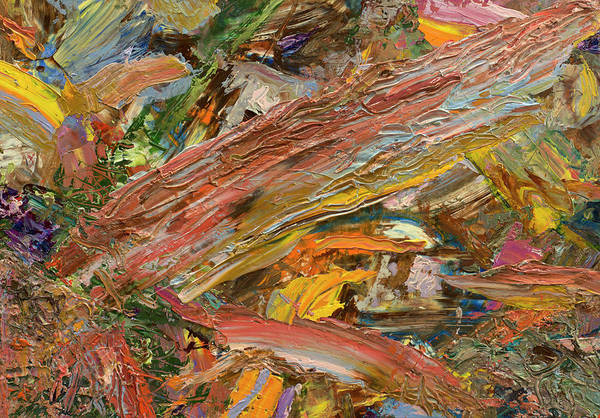 Expressionism Painting - Paint Number 41 by James W Johnson