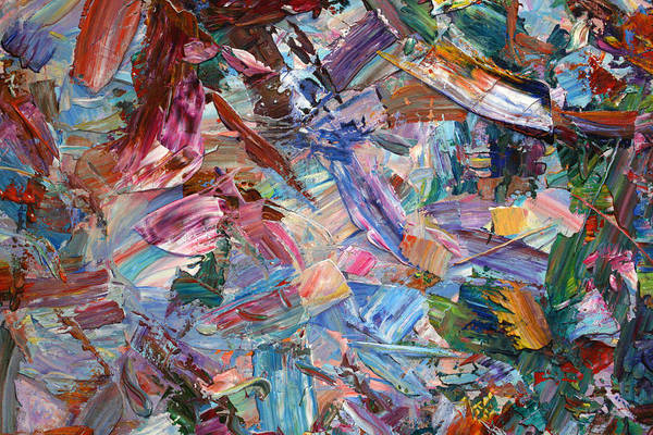 Expressionism Painting - Paint Number 42-b by James W Johnson