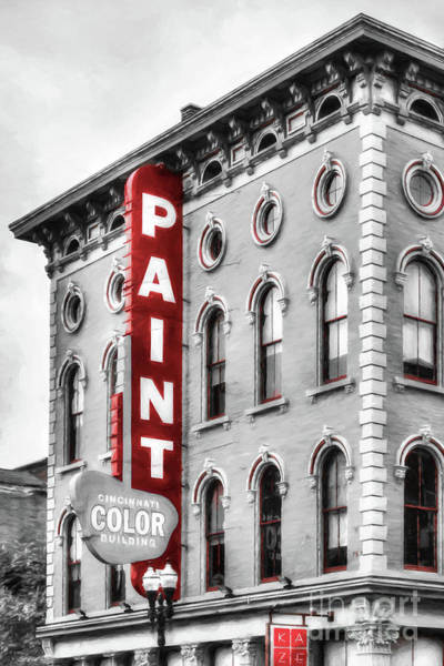 Photograph - Paint The Town Red by Mel Steinhauer