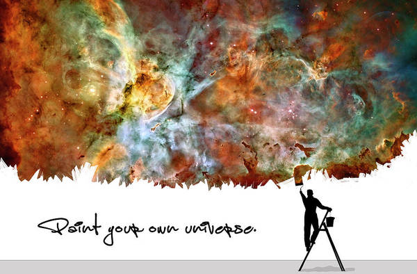 Wall Art - Photograph - Paint Your Own Universe II by Ricky Barnard