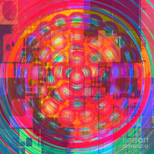 Digital Art - Paintball Remix 2015 by Kathryn Strick