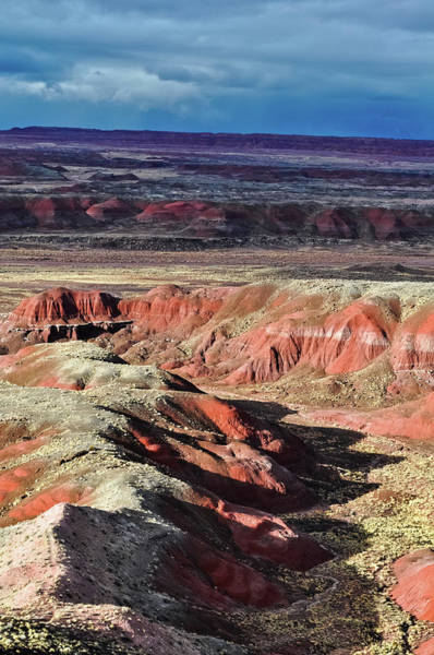 Photograph - Painted Desert Arizona Shadows by Kyle Hanson