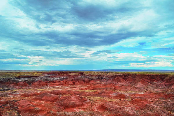 Photograph - Painted Desert Blue Sky by Kyle Hanson
