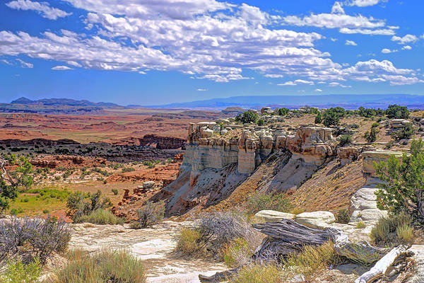 Photograph - Painted Desert Of Utah by Peter Kennett
