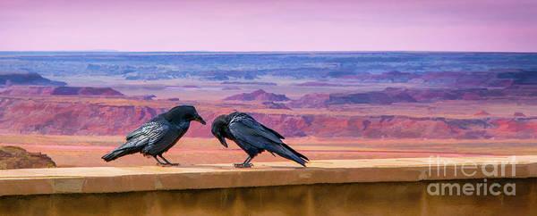 Painted Desert Pals Art Print