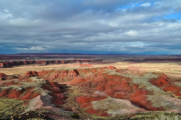Photograph - Painted Desert Shadows by Kyle Hanson