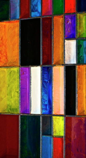 Primary Colors Mixed Media - Painted Drawer by Gwyn Newcombe