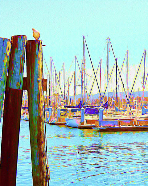 Wall Art - Painting - Painted Harbour by Chris Andruskiewicz