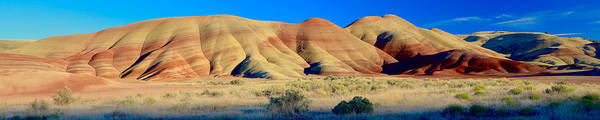 Photograph - Painted Hills Extreme Pano  by Todd Kreuter