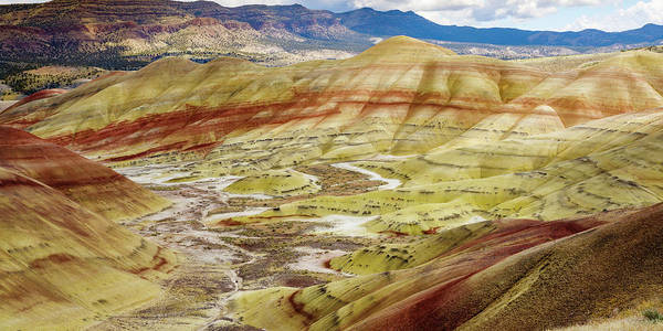 Wall Art - Photograph - Painted Hills From Overlook Trail by John Trax