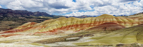 Wall Art - Photograph - Painted Hills From Painted Hills Overlook by John Trax