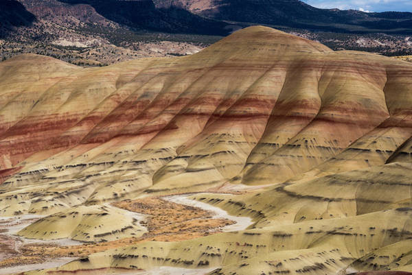 Photograph - Painted Hills Of Oregon by Robert Potts