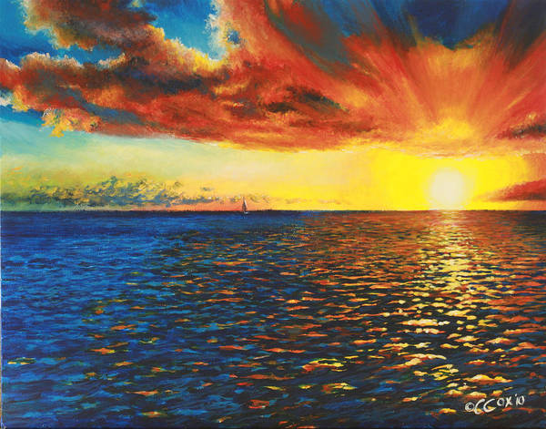 Painting - Painted Horizon by Christopher Cox