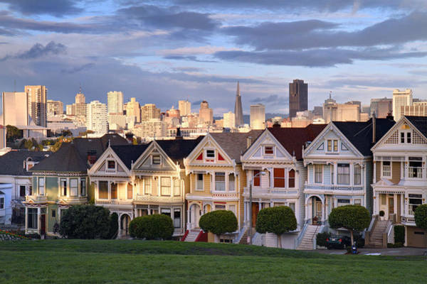 Photograph - Painted Ladies In Sf California by Pierre Leclerc Photography
