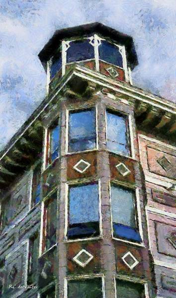 Painting - Painted Lady, Russian Hill by RC DeWinter