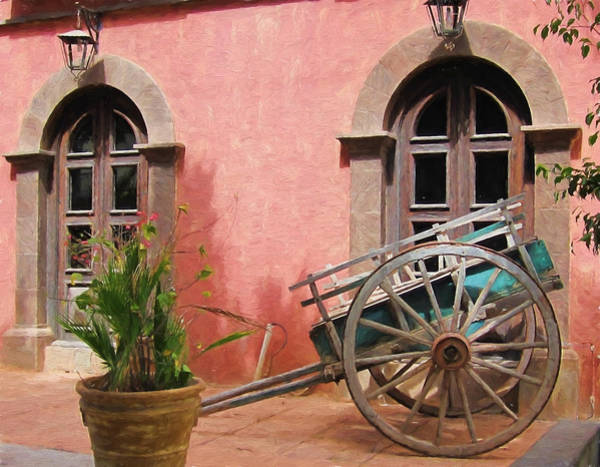 Photograph - Picturesque Hotel In Loreto - Painted by Marilyn Wilson