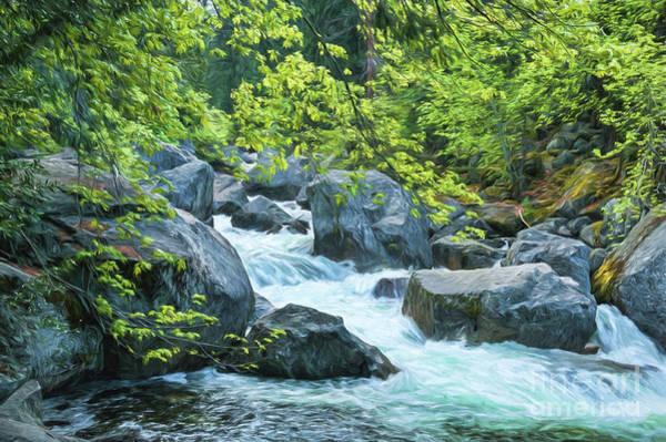 Photograph - Painted River by Sharon Seaward
