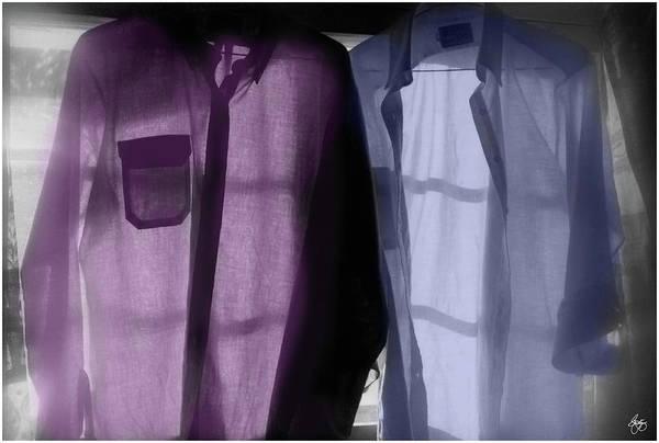 Photograph - Painted Shirts No 1 by Wayne King