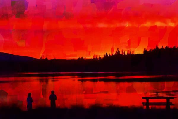 Digital Art - Painted Twilight by Richard Farrington