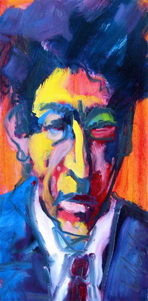 Painting - Painter Or Poet? by Les Leffingwell