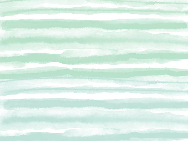 Abstract Watercolor Mixed Media - Painterly Beach Stripe 2- Art By Linda Woods by Linda Woods