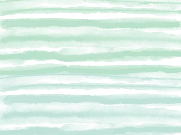 Stripe Mixed Media - Painterly Beach Stripe 2- Art By Linda Woods by Linda Woods