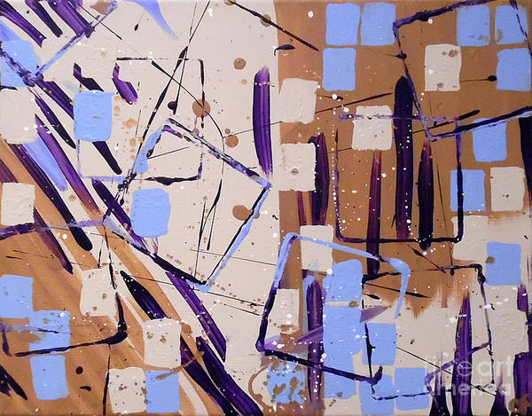 Painting - Painters Block by Jilian Cramb - AMothersFineArt