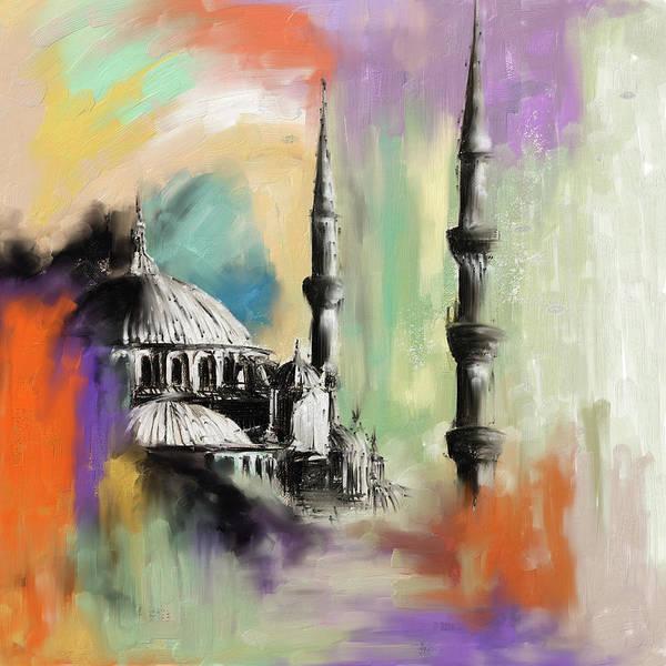 Wall Art - Painting - Painting 368 1 by Mawra Tahreem