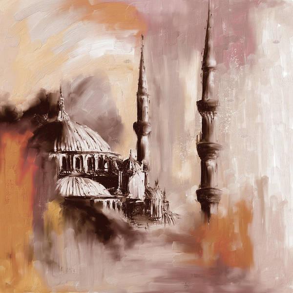 Wall Art - Painting - Painting 368 2 by Mawra Tahreem