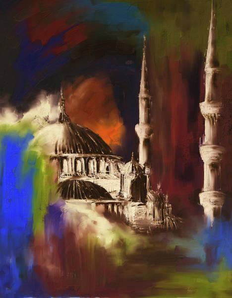 Wall Art - Painting - Painting 368 3 by Mawra Tahreem