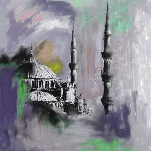 Wall Art - Painting - Painting 368 4 by Mawra Tahreem
