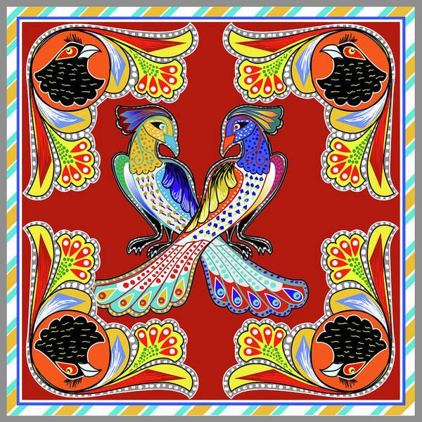 Indigenous Wall Art - Painting - Painting 629 1 Truck Art 6 by Mawra Tahreem